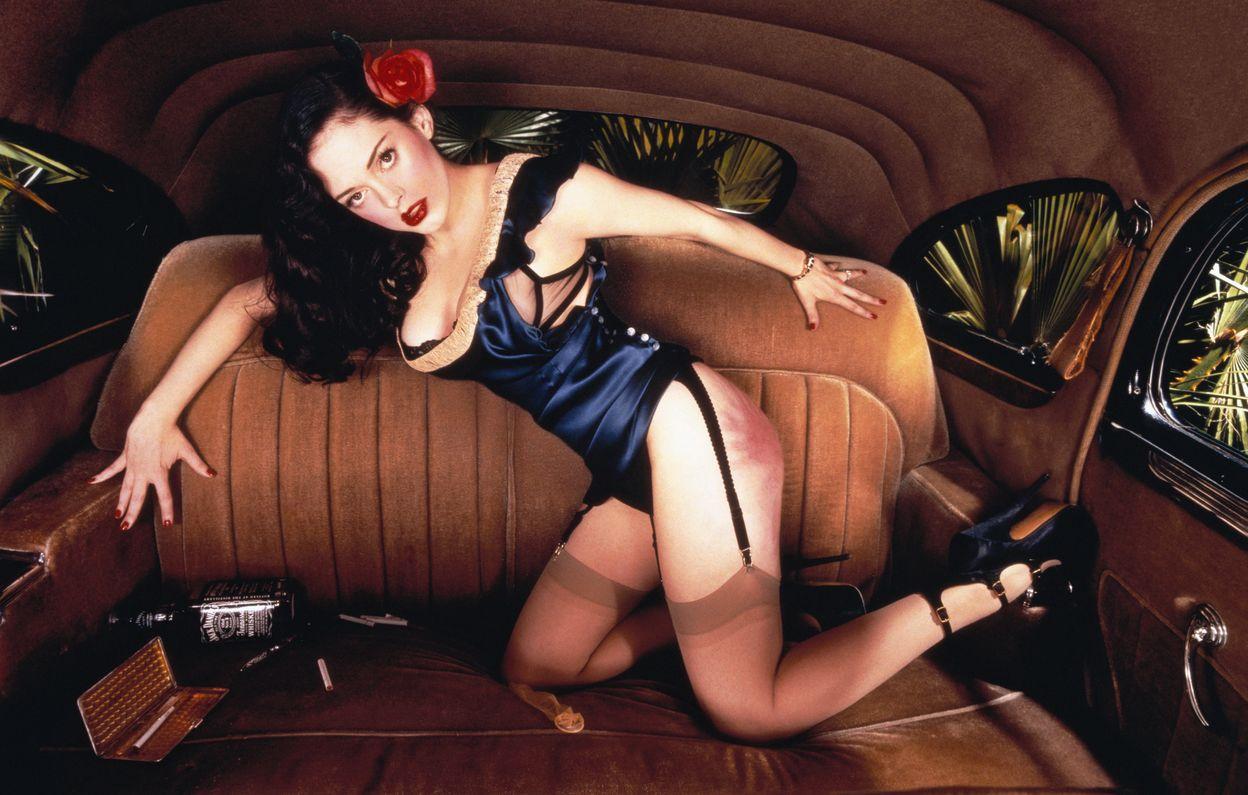 Роуз Макгоун в фотосессии Дэвида Лашапеля