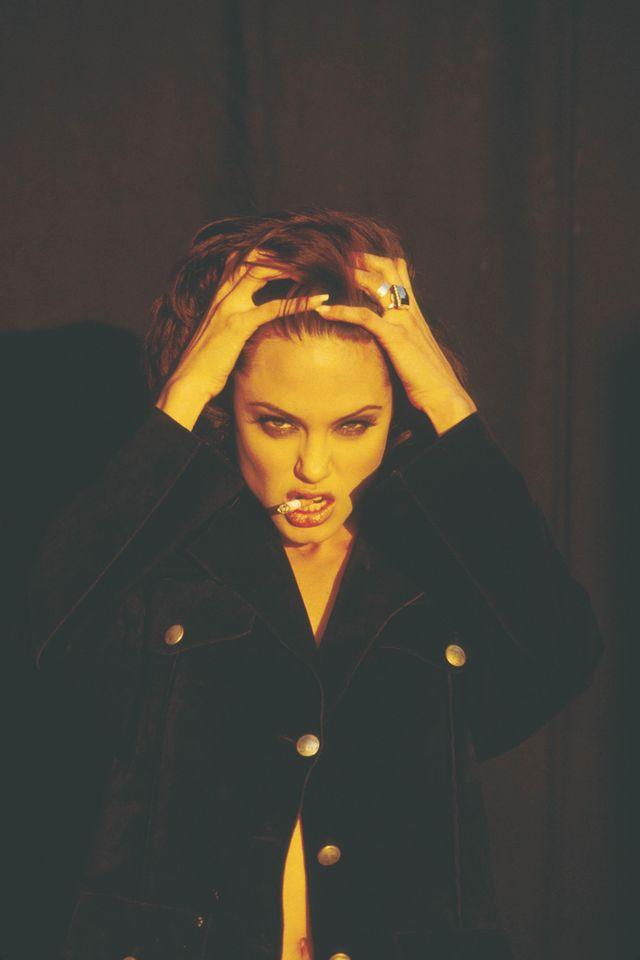 Анджелина Джоли в фотосессии Марселя Индика