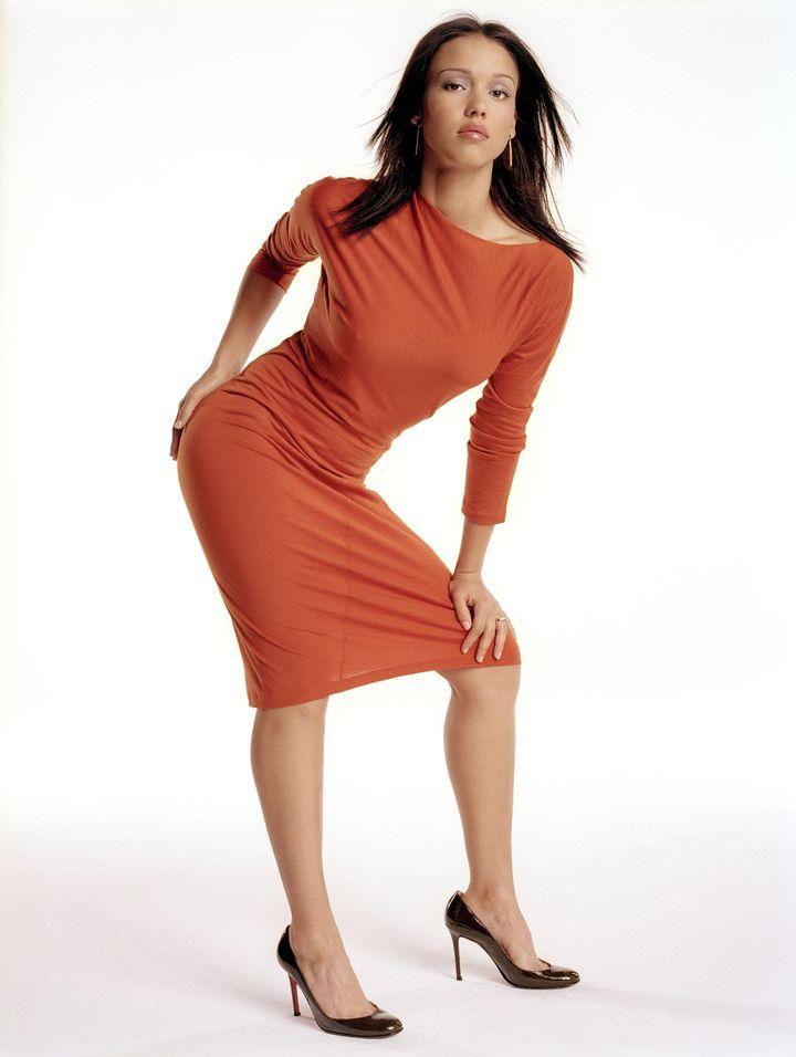 Джессика Альба в фотосессии Стива Шоу для журнала InStyle 04