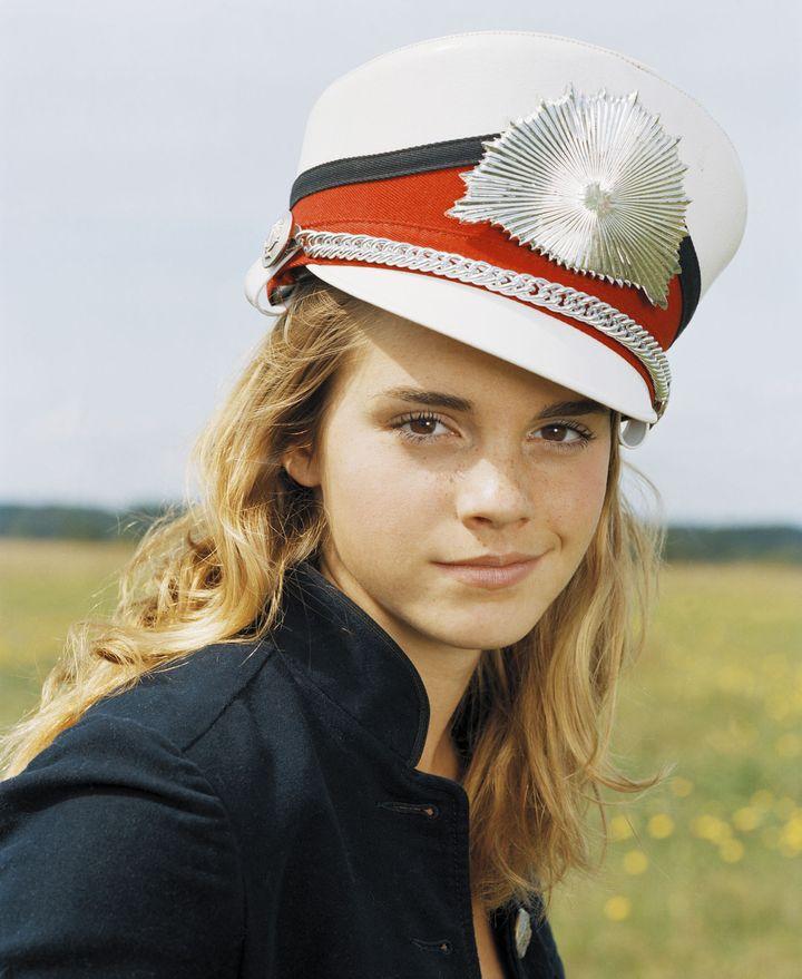 Эмма Уотсон в 2005 году в фотосессии Вики Форши