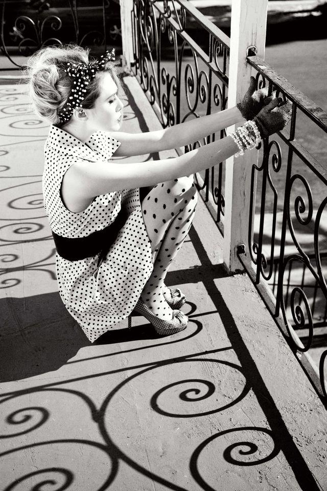 Элизабет Олсен в фотосессии Эллен фон Унверт