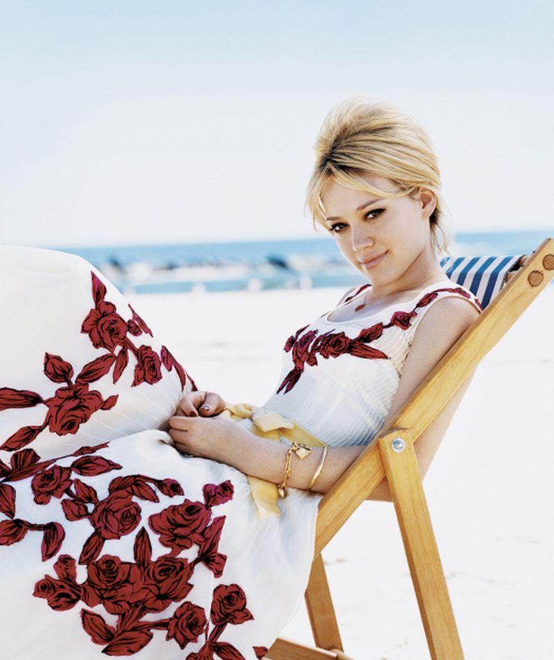 Хилари Дафф в фотосессии Патрика Демаршелье для журнала Teen Vogue