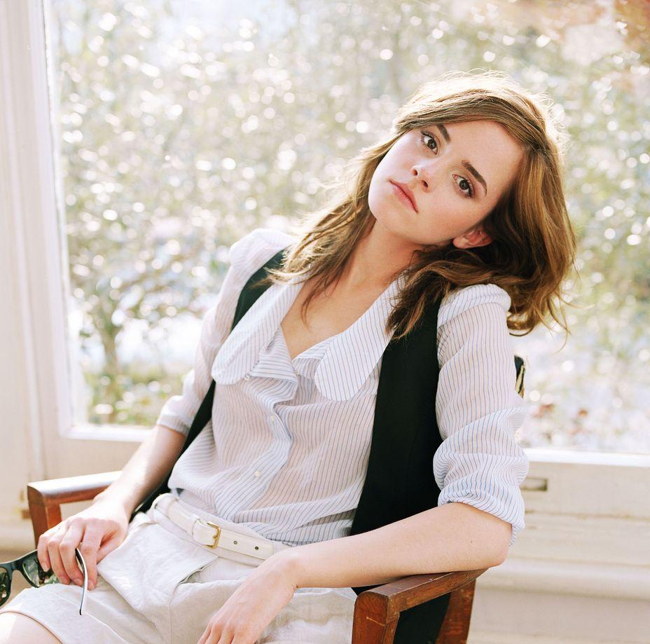 Эмма Уотсон в фотосессии Лоренцо Аджиуса для журнала Bravo
