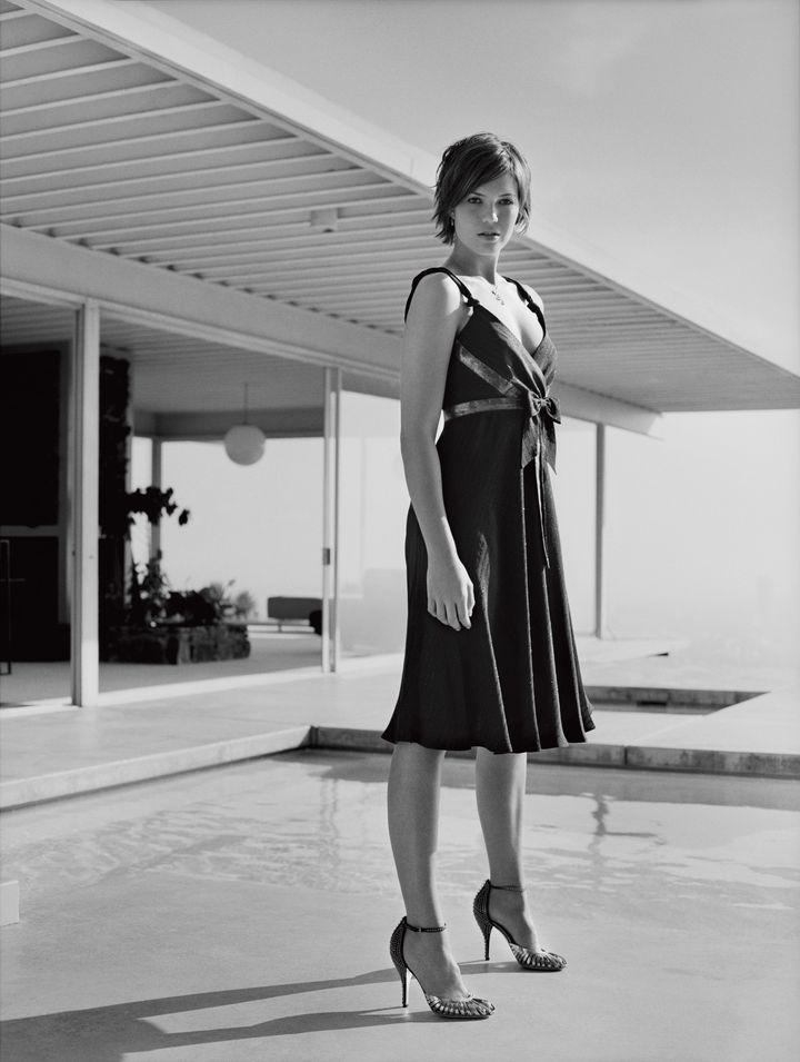 Мэнди Мур в фотосессии для журнала Marie Claire