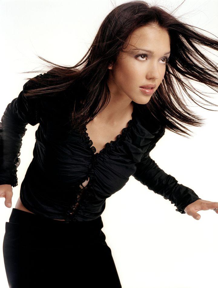 Джессика Альба в фотосессии Стива Шоу для журнала InStyle 05