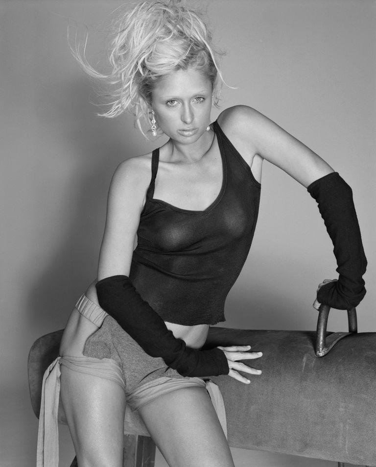 Пэрис Хилтон в фотосессии Марка Батиста для журнала ELLE UK