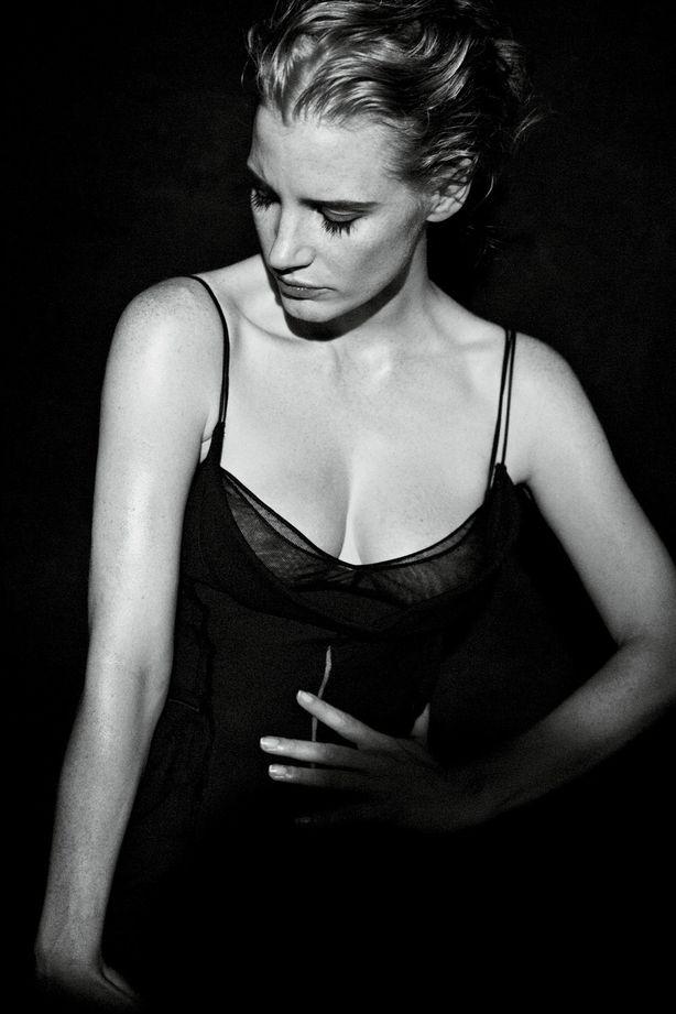 Джессика Честейн в фотосессии Питера Линдберга