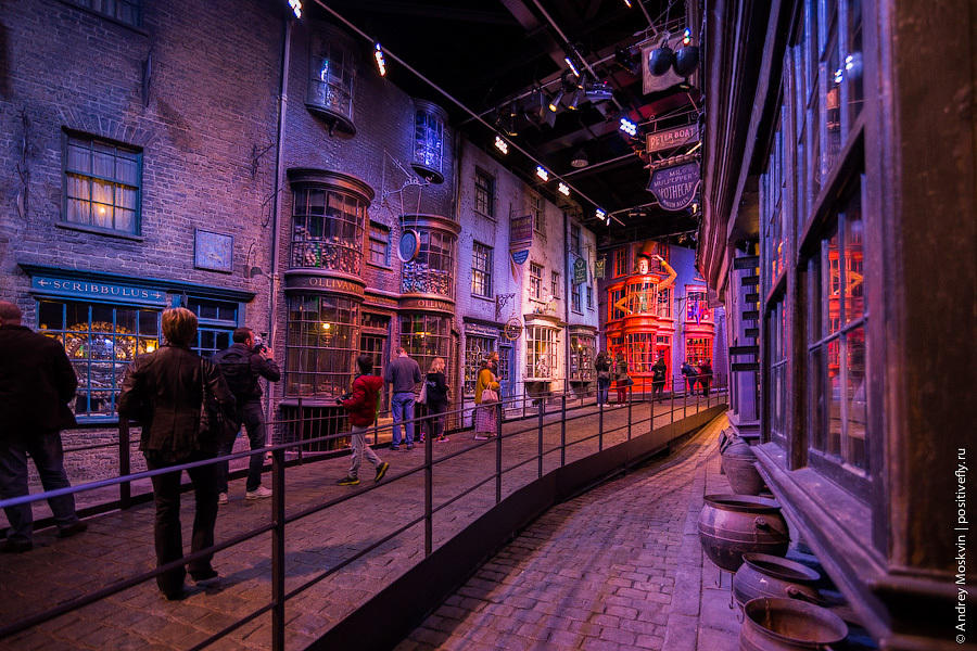 """Где снимался """"Гарри Поттер"""""""