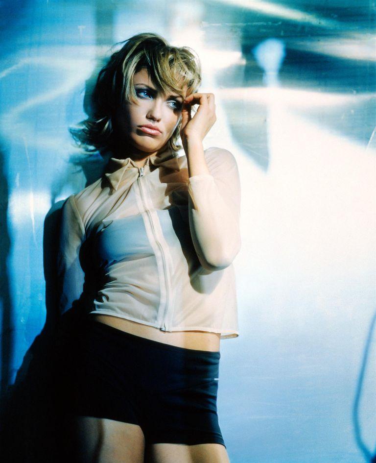 Камерон Диаз в фотосессии для журнала Esquire