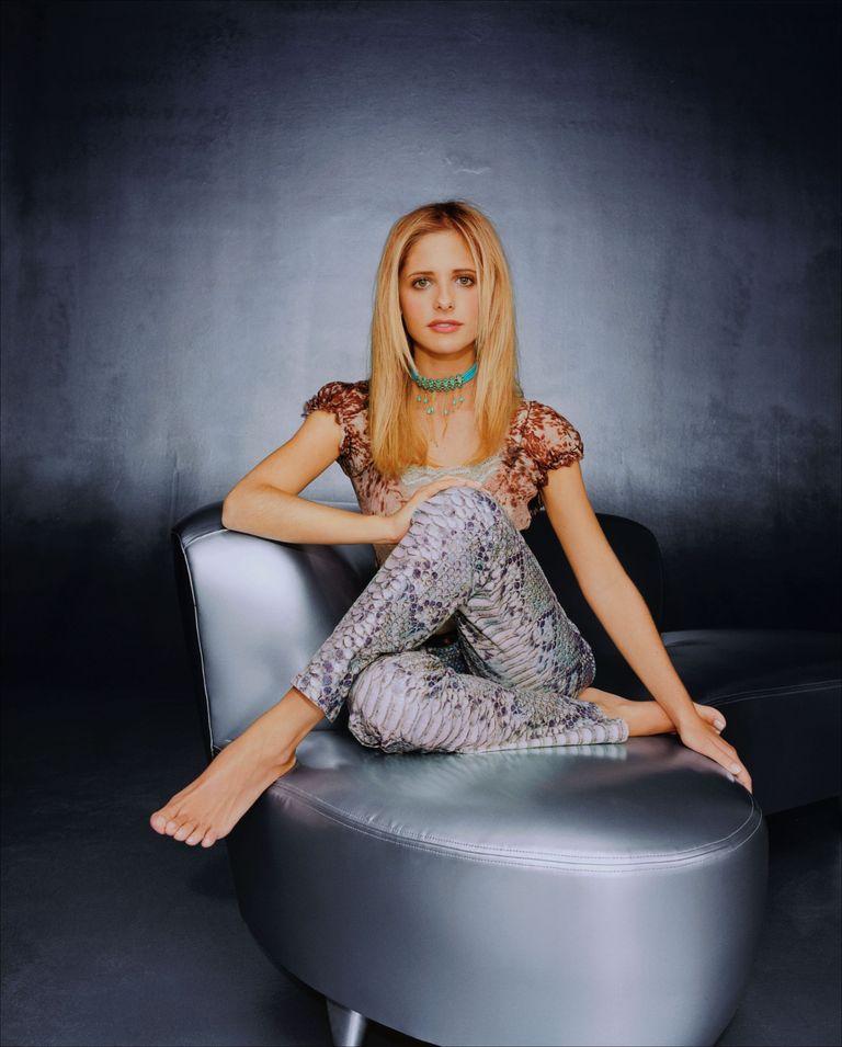 Сара Мишель Геллар в фотосессии для журнала TV Guide