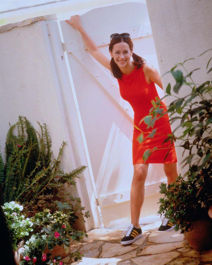 Дженнифер Лав Хьюитт в 1998 году в фотосессии Роберта Трахтенберга