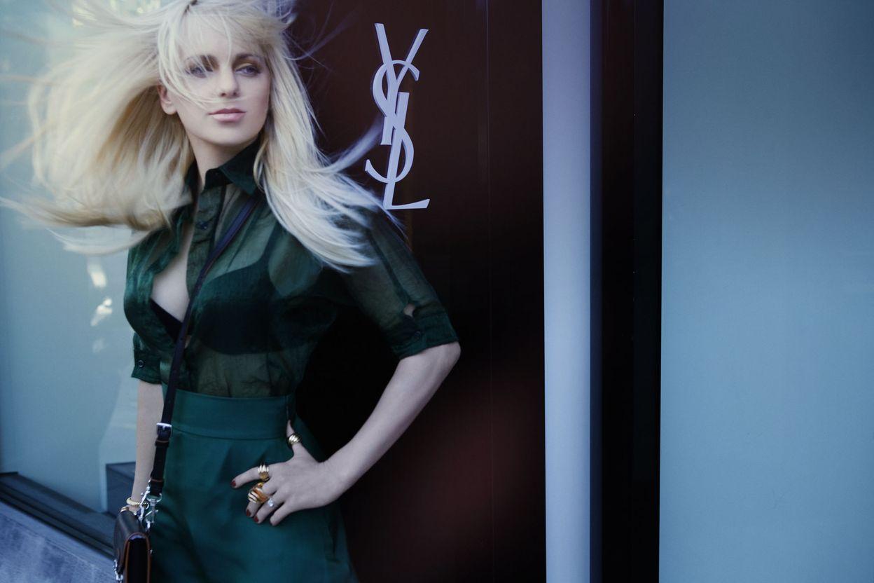 Анна Фэрис в фотосессии Дусана Релджина для журнала ELLE US