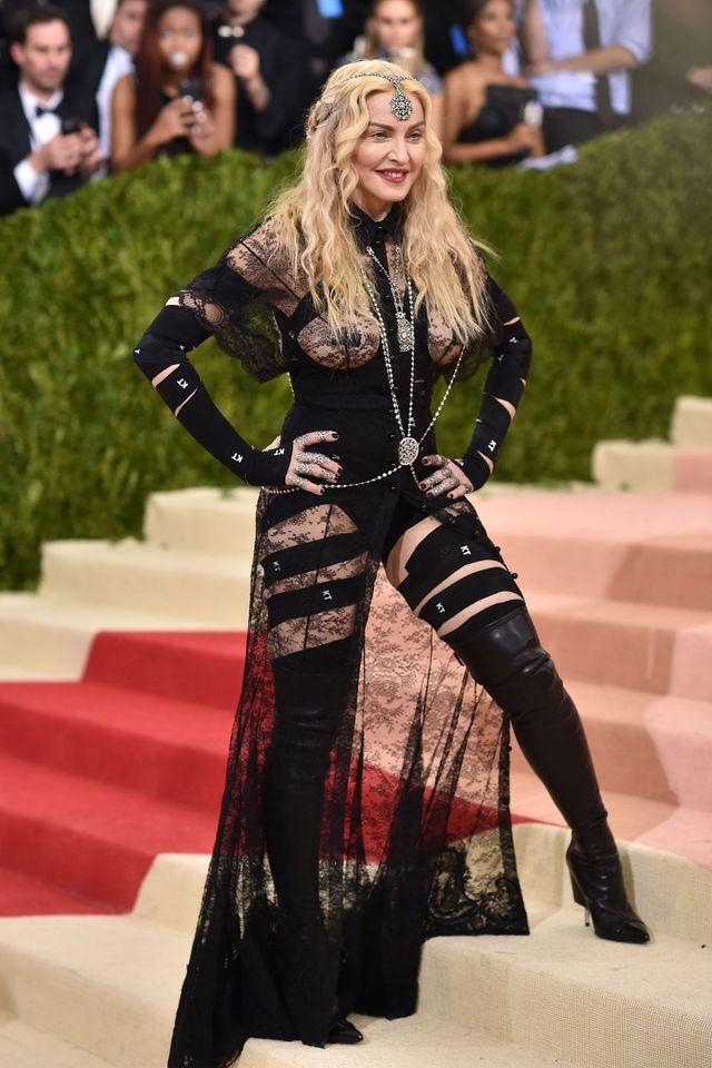 Ежегодный бал института костюма от журнала Vogue - 02.05.2016, Мадонна
