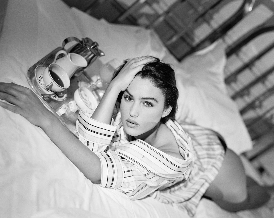 Моника Белуччи в 1990 году в фотосессии Фредерика Мейлана