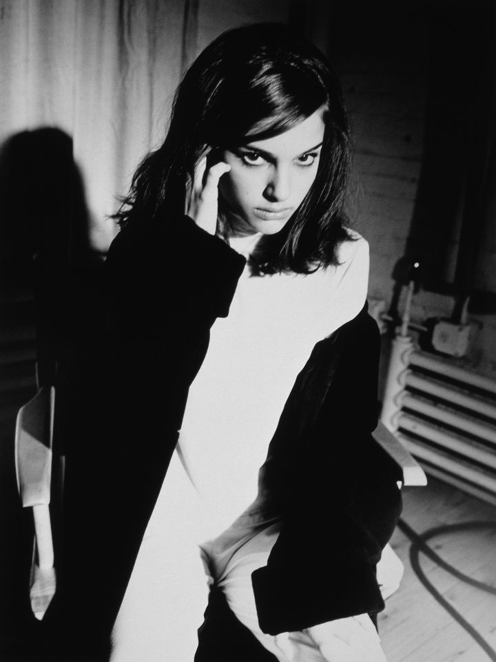 Натали Портман в фотосессии Наоми Калтман