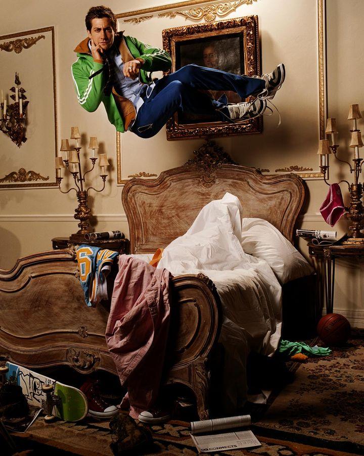 Джейк Джилленхол в фотосессии Майкла Томпсона