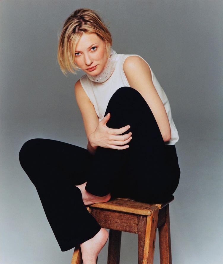 Кейт Бланшетт в 1999 году в фотосессии Джеймса Хьюстона