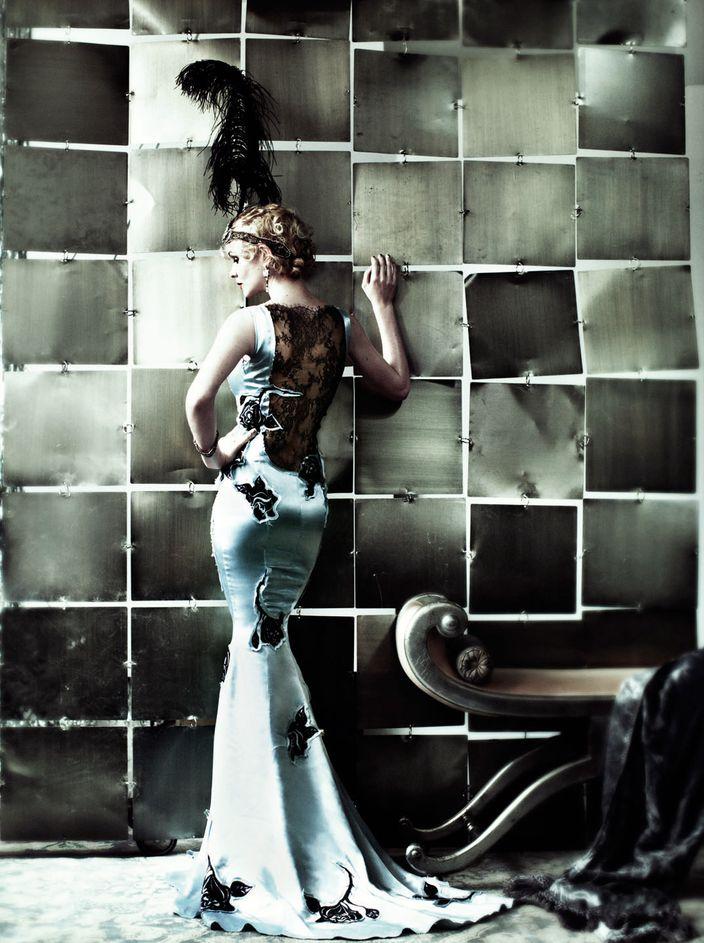Кэри Маллиган в фотосессии Марио Тестино