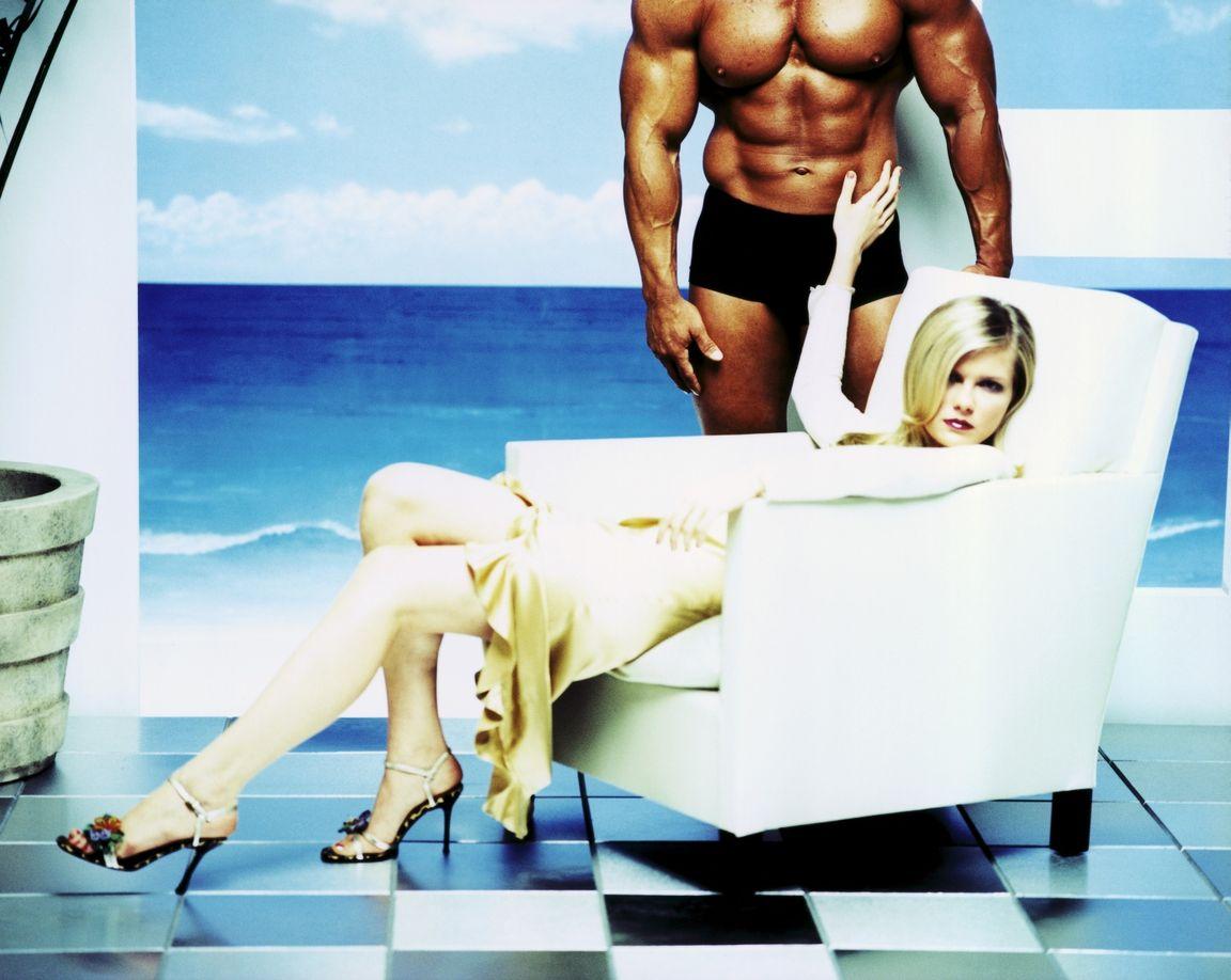 Кирстен Данст в фотосессии Майка Руиса для журнала Ocean Drive