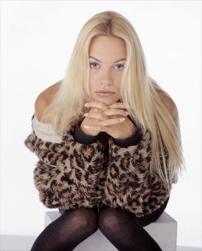 Памела Андерсон в фотосессии Алана Олли