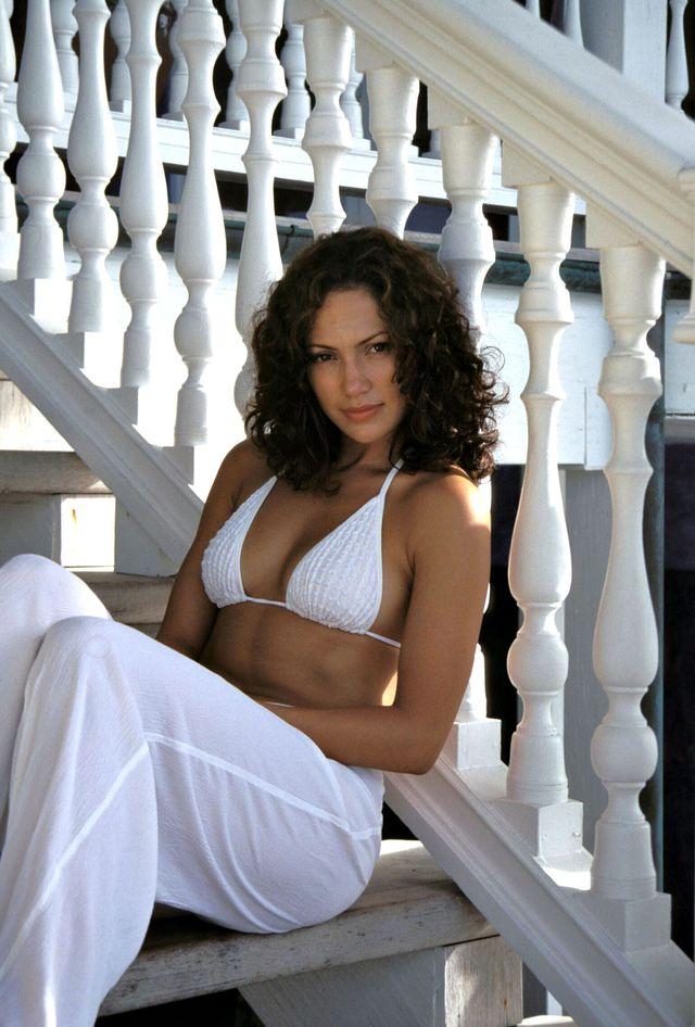 Дженнифер Лопес в фотосессии Барри Кинга