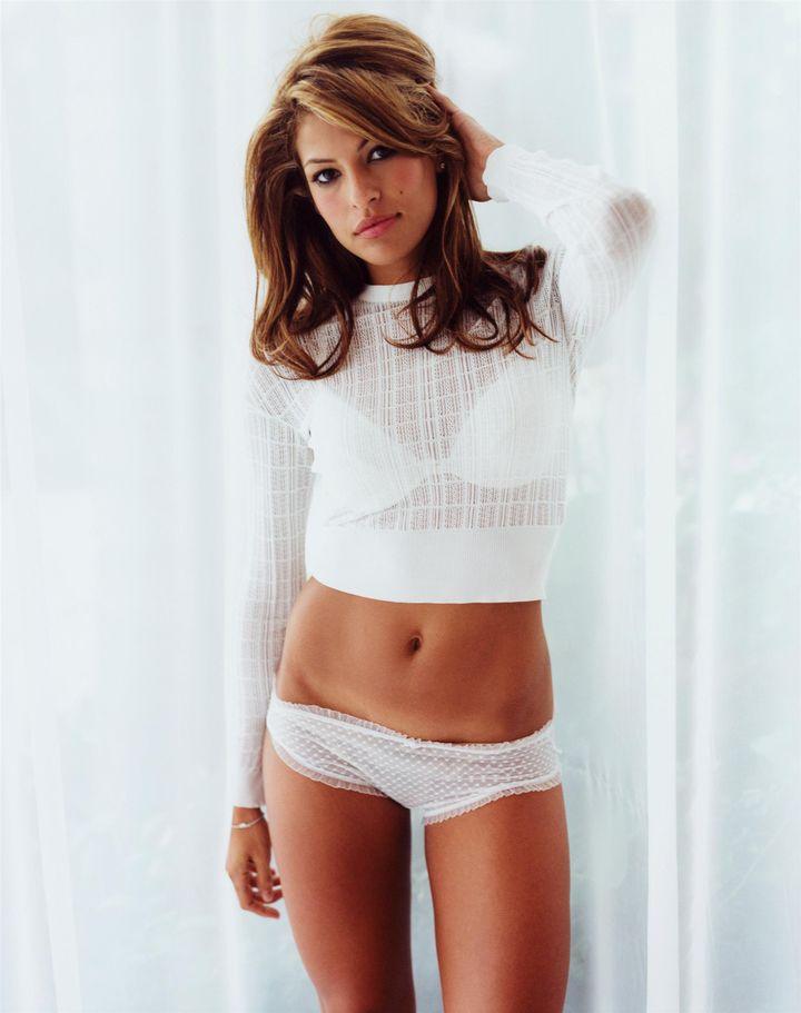 Ева Мендес в 2003 году в фотосессии Марка Хили