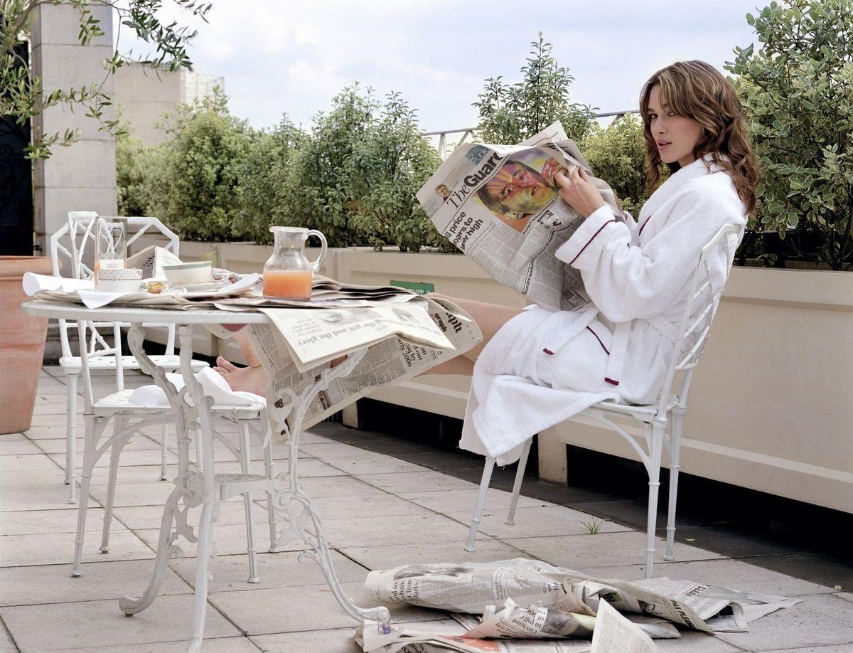 Кира Найтли в фотосессии Криса Флойда