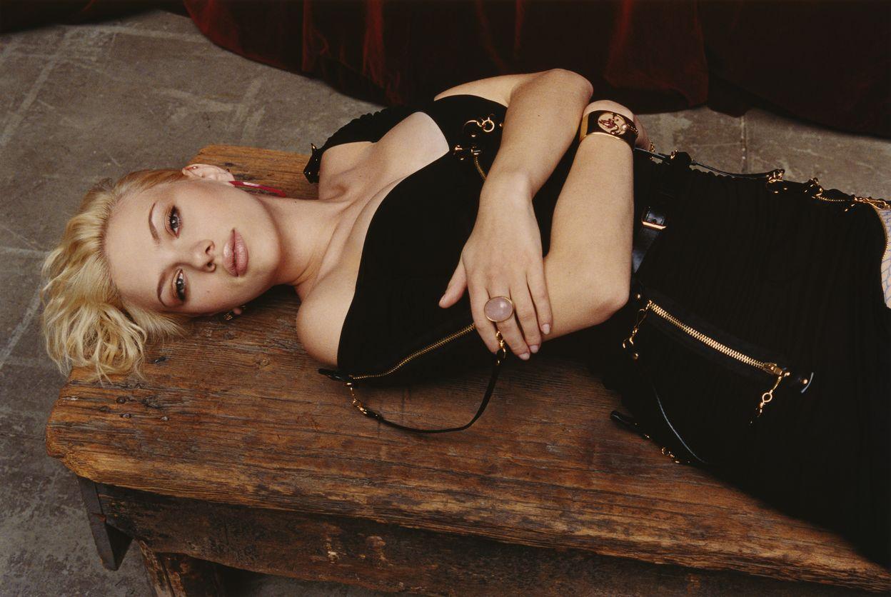 Скарлетт Йоханссон в фотосессии Ярива Милчана для журнала Hollywood Life