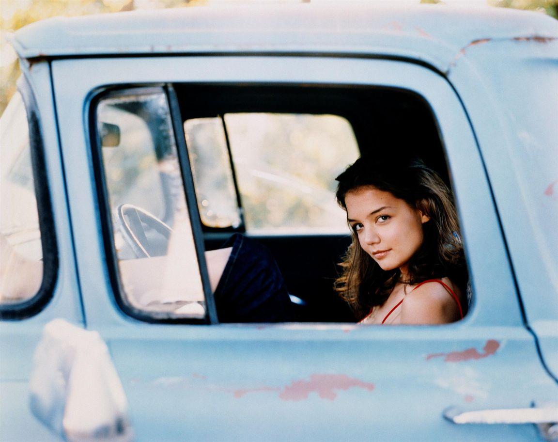 Кэти Холмс в фотосессии Катрин Вессель для журнала TV Guide