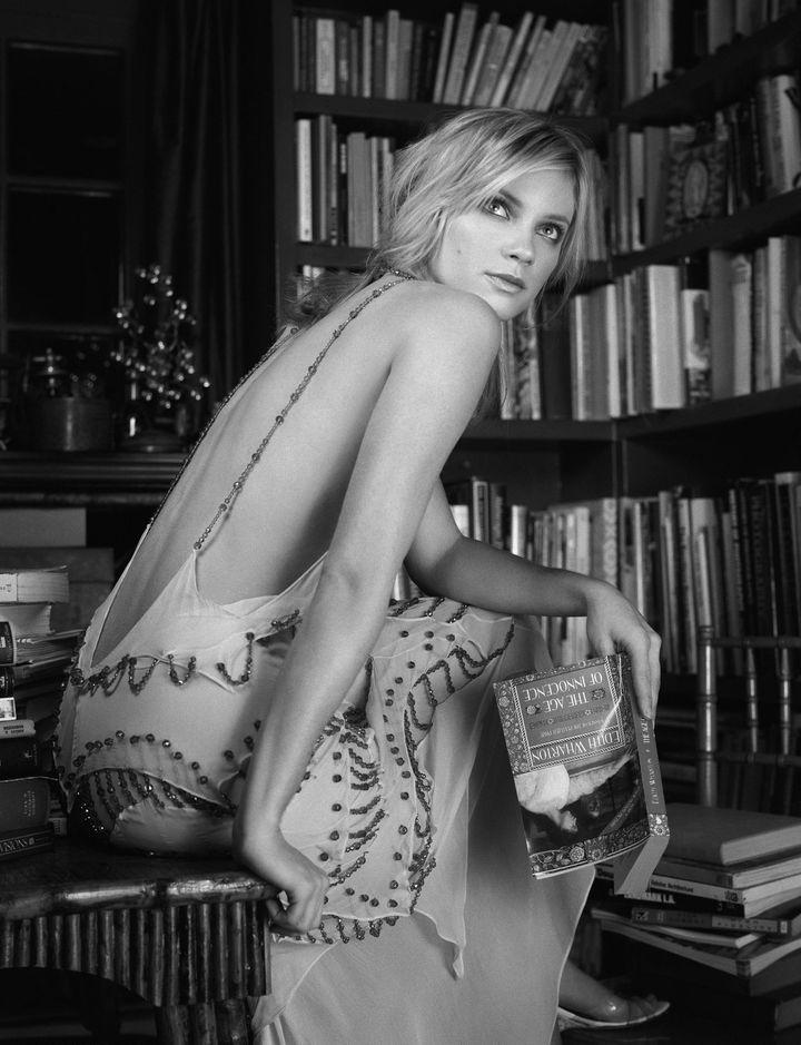 Эми Смарт в фотосессии Изабель Шнайдер для журнала InStyle