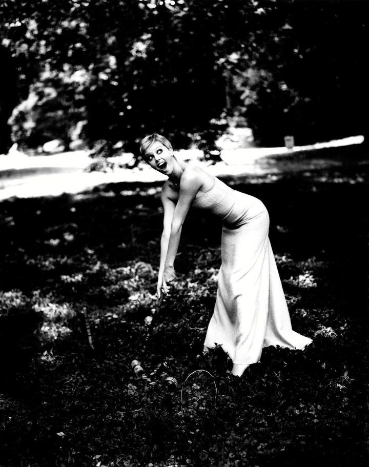 Шарлиз Терон в фотосессии Эллен фон Унверт