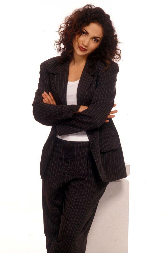 Дженнифер Лопес в 1994 году в фотосессии Клиффа Липсона