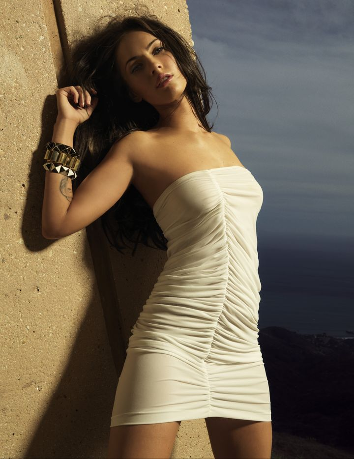 Меган Фокс в фотосессии Джеймса Уайта для журнала Maxim