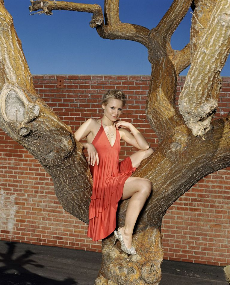 Кристен Белл в фотосессии Патрика Фрейзера