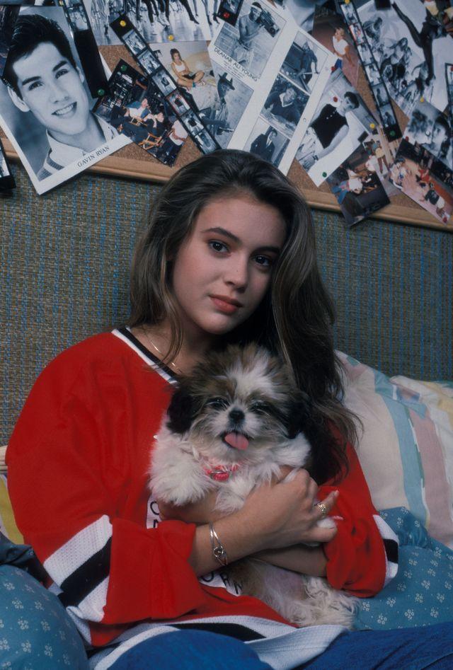 Алисса Милано в фотосессии Эрика Хайнила