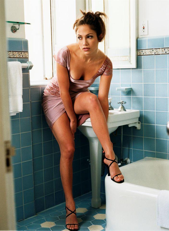 Дженнифер Лопес в фотосессии Уэйна Стэмблера для журнала USA Weekend