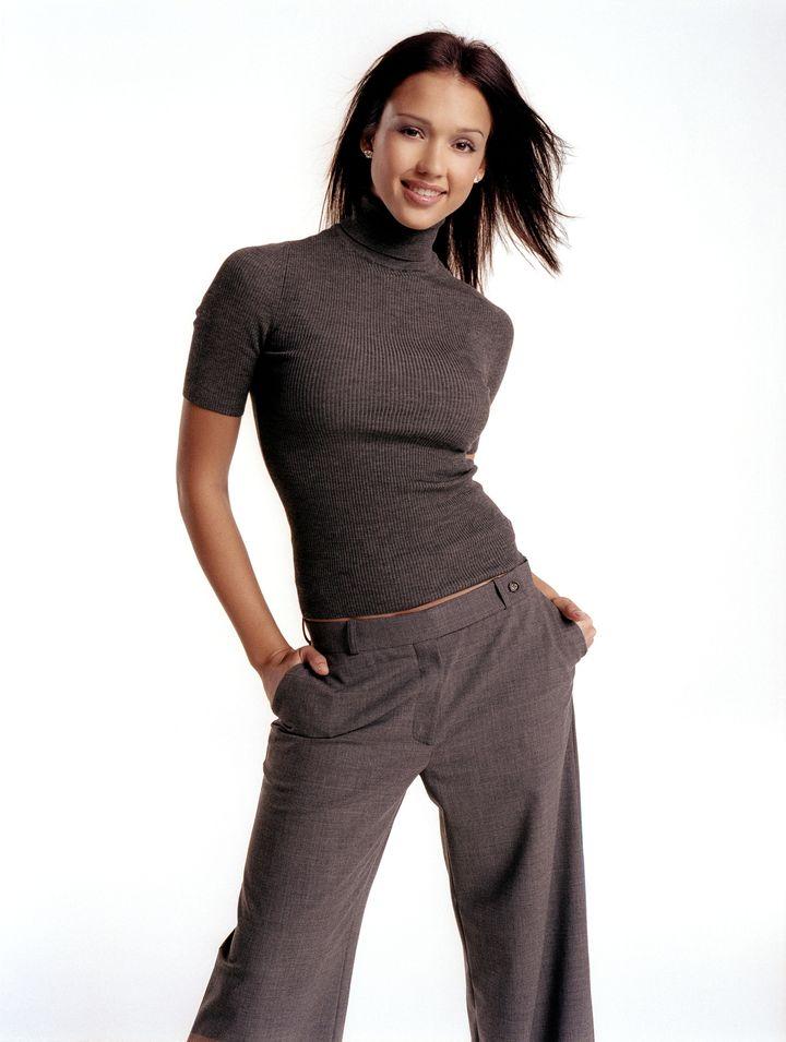 Джессика Альба в фотосессии Стива Шоу для журнала InStyle 01