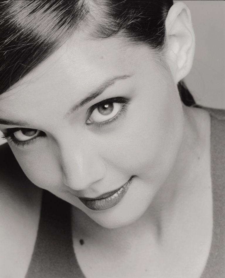 Кэти Холмс в фотосессии Майкла О`Нила для журнала InStyle