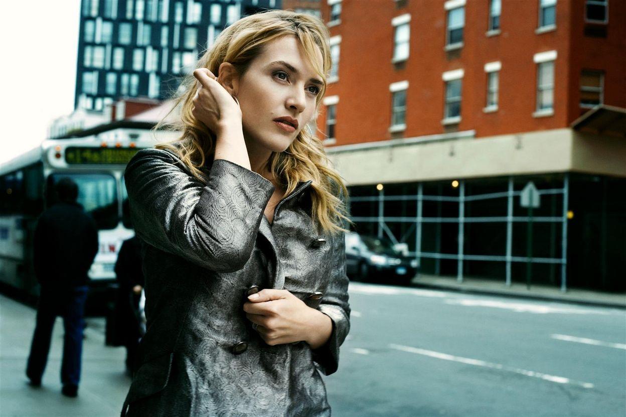 Кейт Уинслет в фотосессии Дженни Гейдж для журнала InStyle