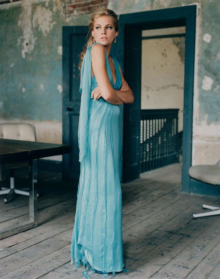 Сиенна Миллер в фотосессии Перри Огдена для журнала InStyle